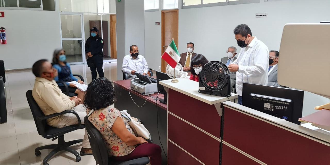 Segunda Sala Penal del TSJ realiza audiencias presenciales | El Imparcial de Oaxaca
