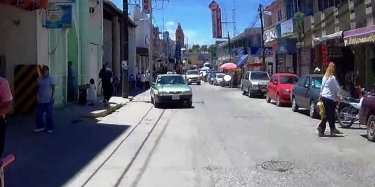 Choque en el centro de Huajuapan de León   El Imparcial de Oaxaca