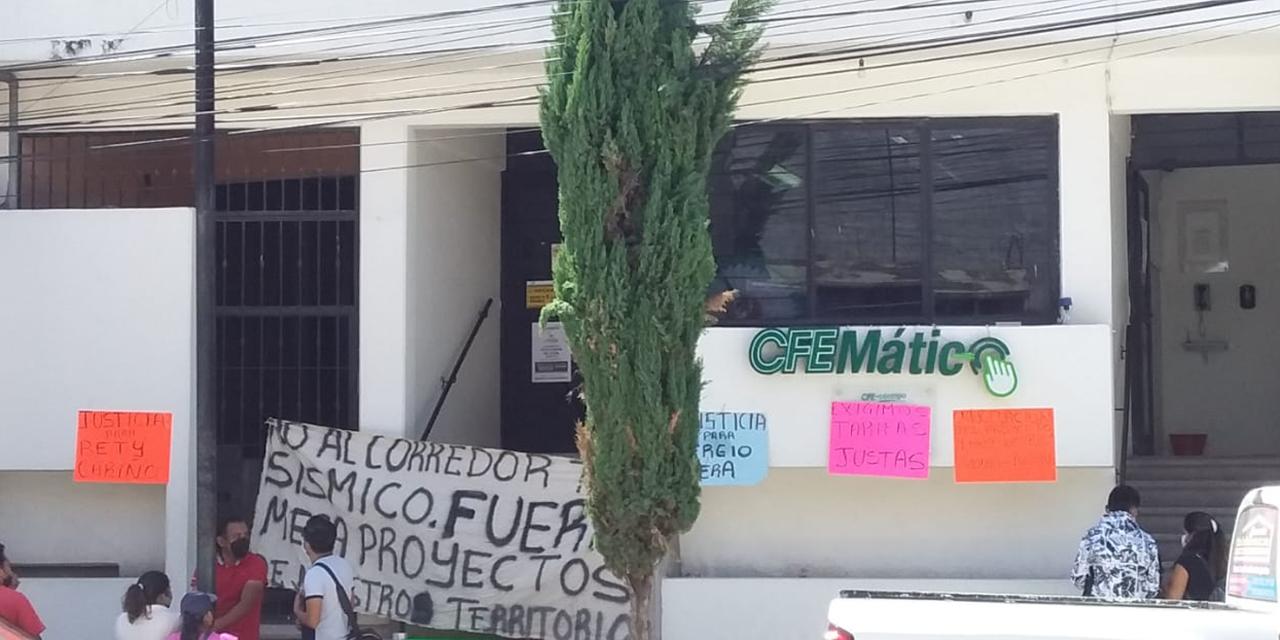 MAÍZ exige tarifas justas y revocación de proyectos con toma de CFE   El Imparcial de Oaxaca