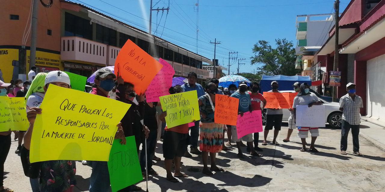 Exigen justicia para menores que fallecieron en accidente en Puerto Escondido | El Imparcial de Oaxaca