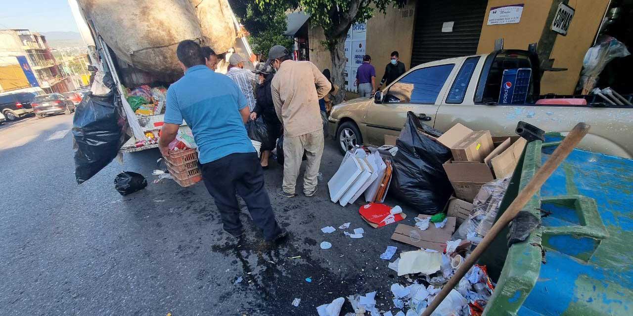 Seis paros a recolección de basura por falta de insumos | El Imparcial de Oaxaca