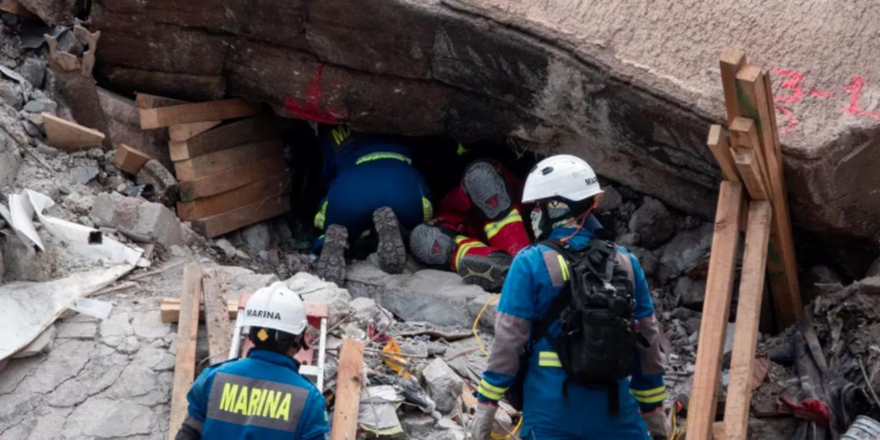 Rescatan el cuerpo sin vida de Mia Mayrín, de 3 años, de los escombros del Cerro del Chiquihuite | El Imparcial de Oaxaca