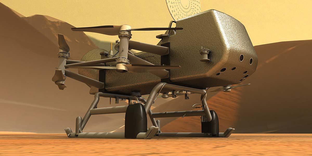 El dron que explorará Titán   El Imparcial de Oaxaca