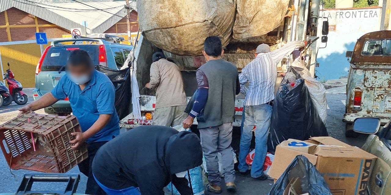 Suman seis paros de recolección de basura en Oaxaca por falta de insumos | El Imparcial de Oaxaca