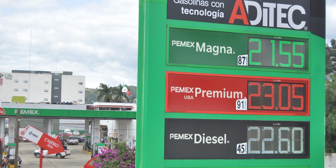 Venta de gasolinas al 80% en Oaxaca | El Imparcial de Oaxaca