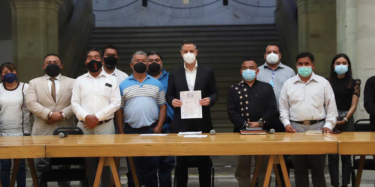 Firman acuerdo de distribución de  agua entre Tamazulápam y Ayutla | El Imparcial de Oaxaca