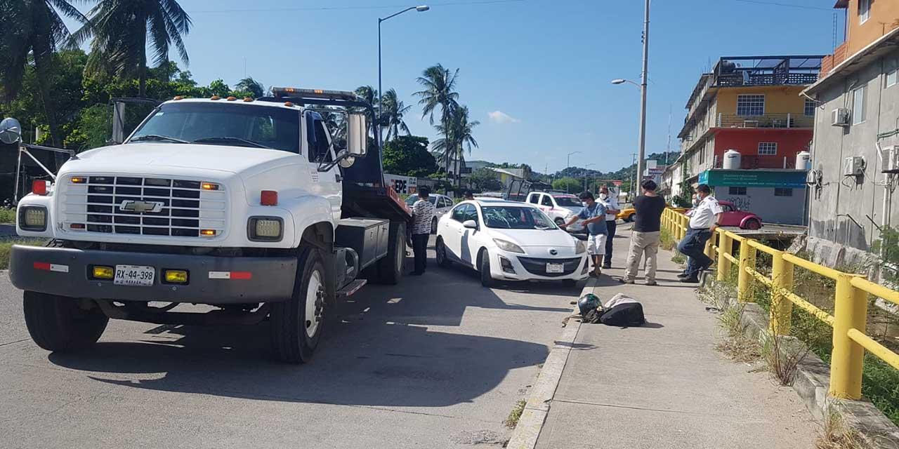 Aparatoso accidente deja un lesionado en Salina Cruz | El Imparcial de Oaxaca