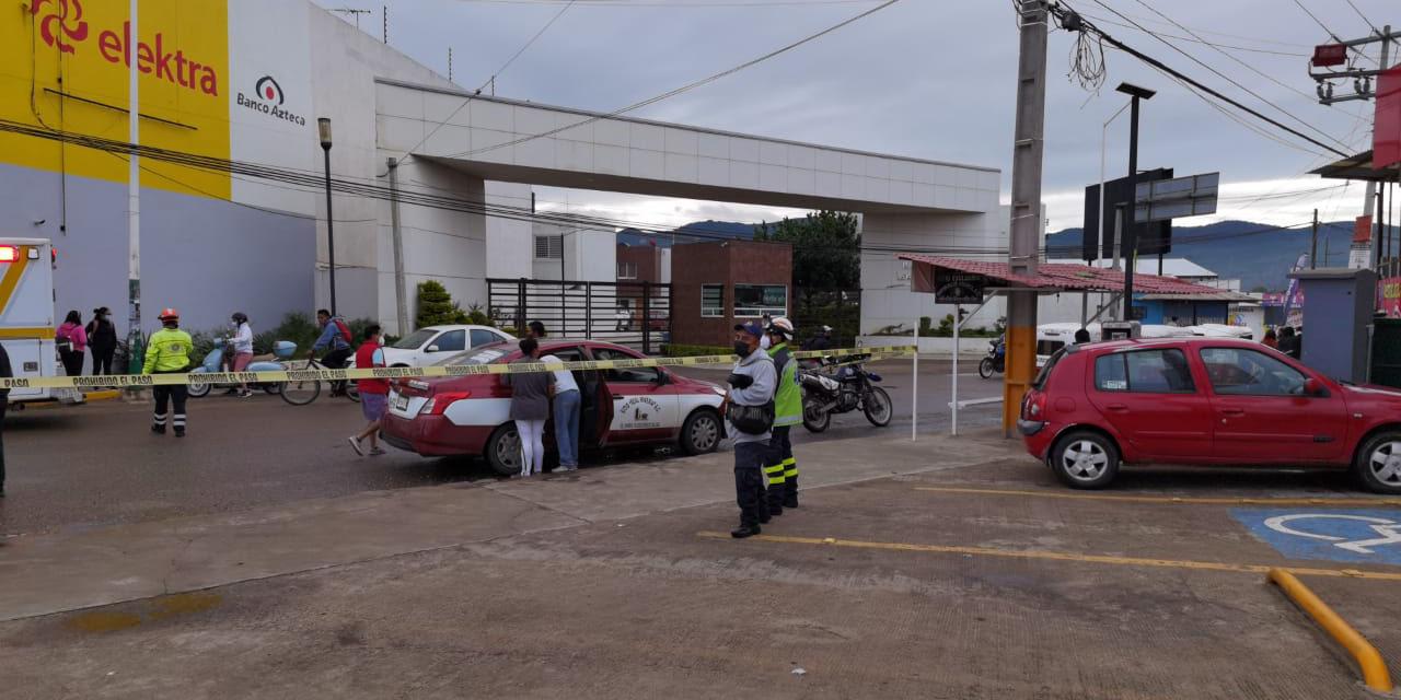 Fallece súbitamente a bordo de un taxi en Santa Cruz Xoxocotlán   El Imparcial de Oaxaca
