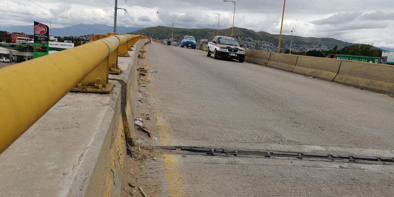 Sinfra minimiza daños en puente de Cinco Señores   El Imparcial de Oaxaca