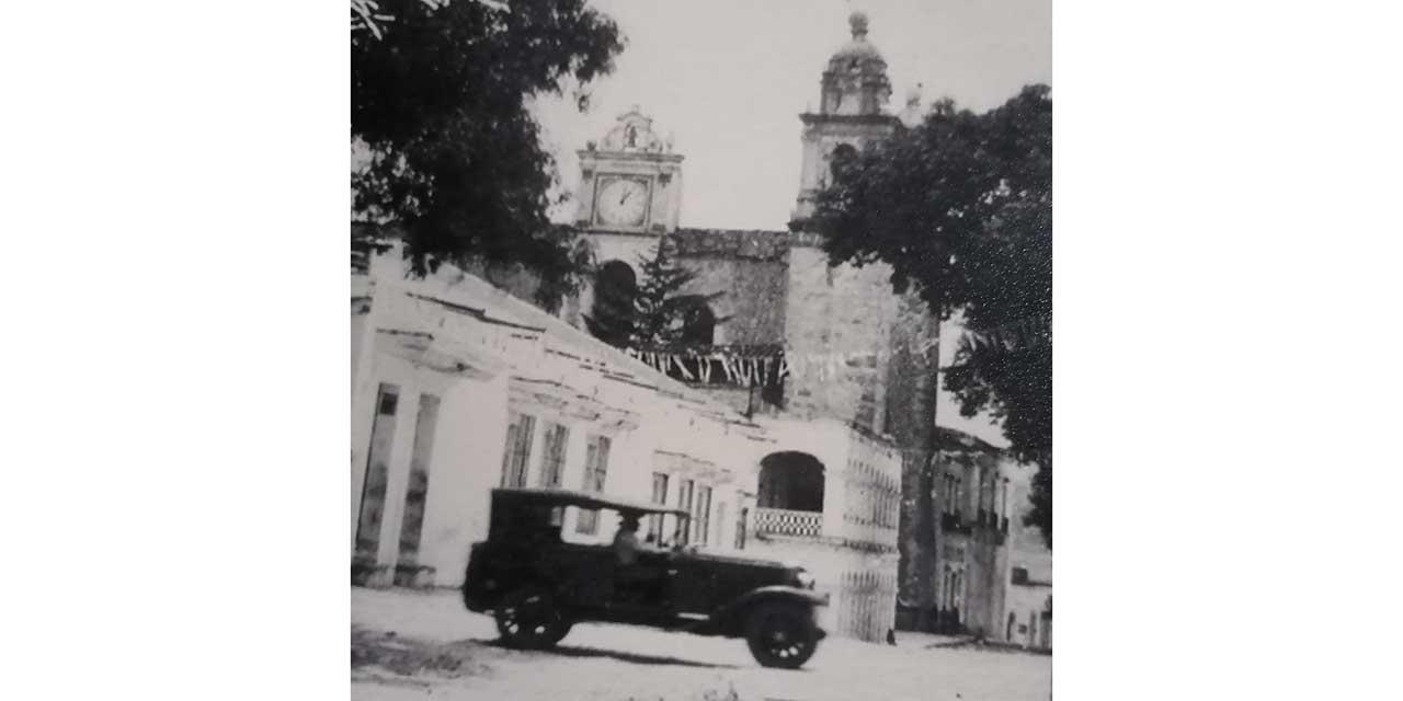 Primer reloj público de la Mixteca está desaparecido   El Imparcial de Oaxaca