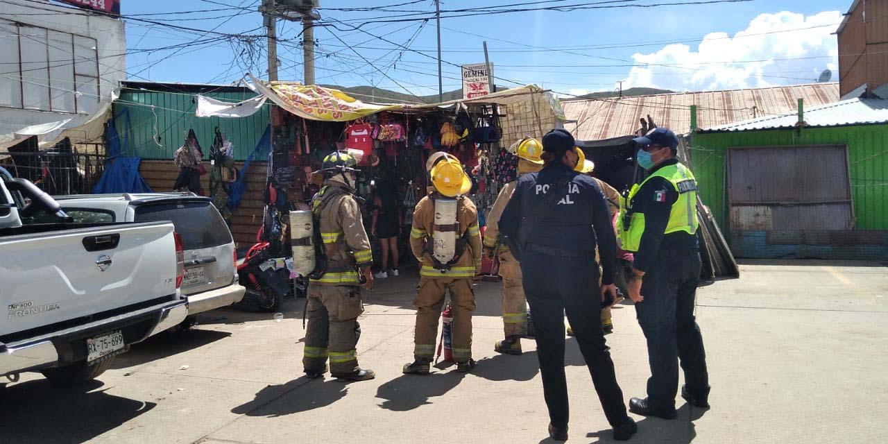 Pánico por un corto circuito en la Central de Abasto   El Imparcial de Oaxaca