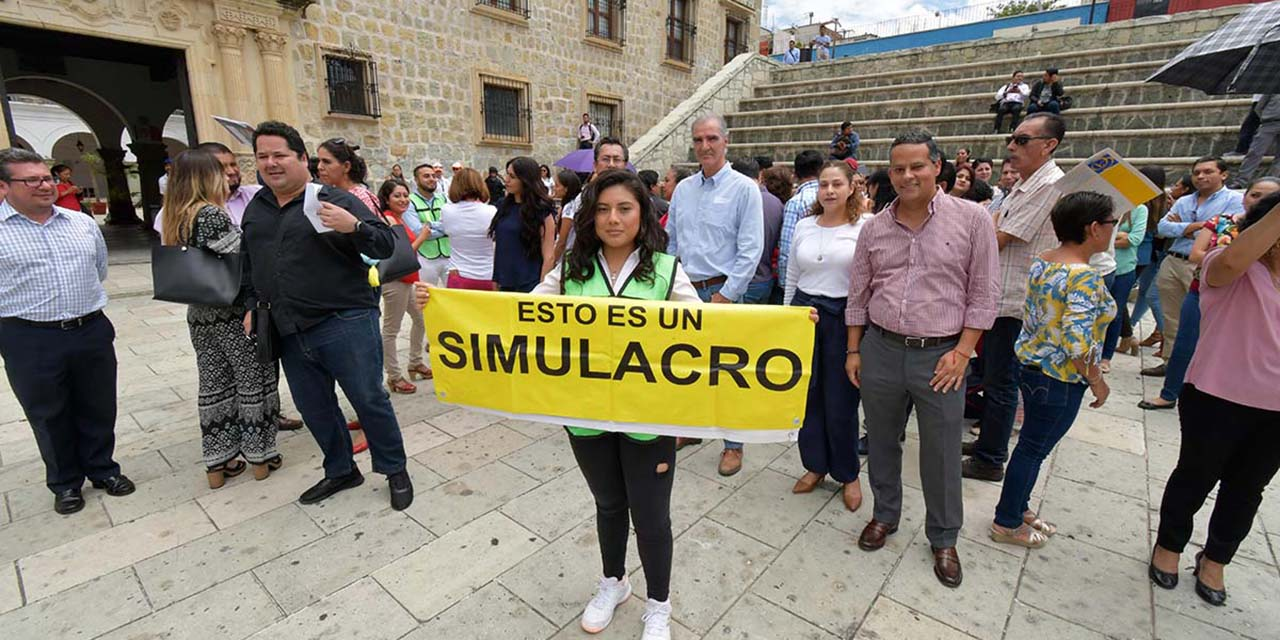 Convoca CEPCO a participar en el Segundo Simulacro Nacional | El Imparcial de Oaxaca