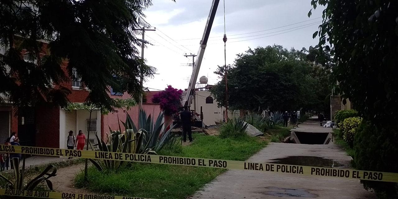 Baches, zanjas y semáforos inservibles toman las calles de la capital oaxaqueña   El Imparcial de Oaxaca