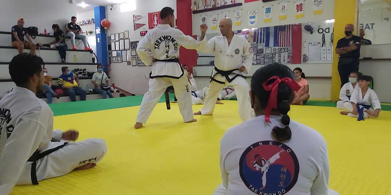 Eder compartió su experiencia en campamento de Taekwondo | El Imparcial de Oaxaca
