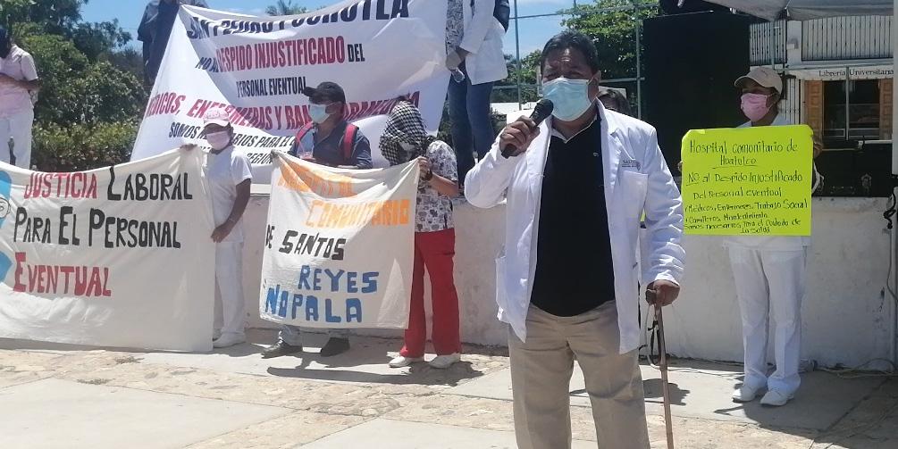 Despiden a 200 trabajadores de hospitales   El Imparcial de Oaxaca