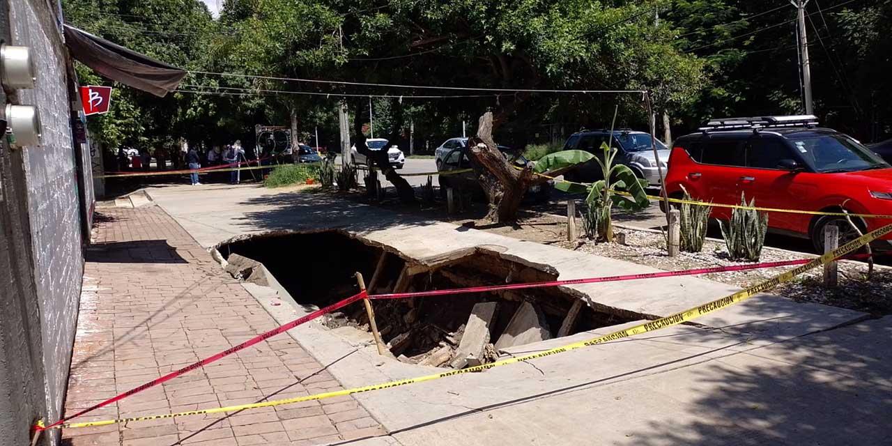 Colapsa andador en La Noria | El Imparcial de Oaxaca