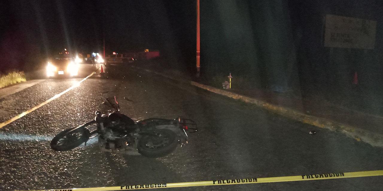 Muerte trágica de motociclista en Ciudad Ixtepec   El Imparcial de Oaxaca