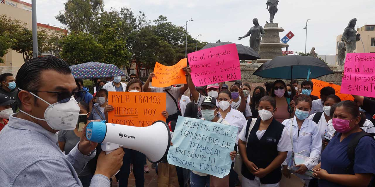 Garantizan certeza laboral a formalizados y regularizados de SSO; a revisión eventuales | El Imparcial de Oaxaca