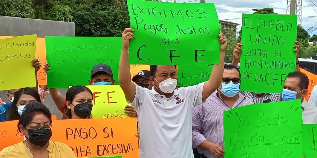 Exigen diálogo con  CFE tras corte de luz | El Imparcial de Oaxaca
