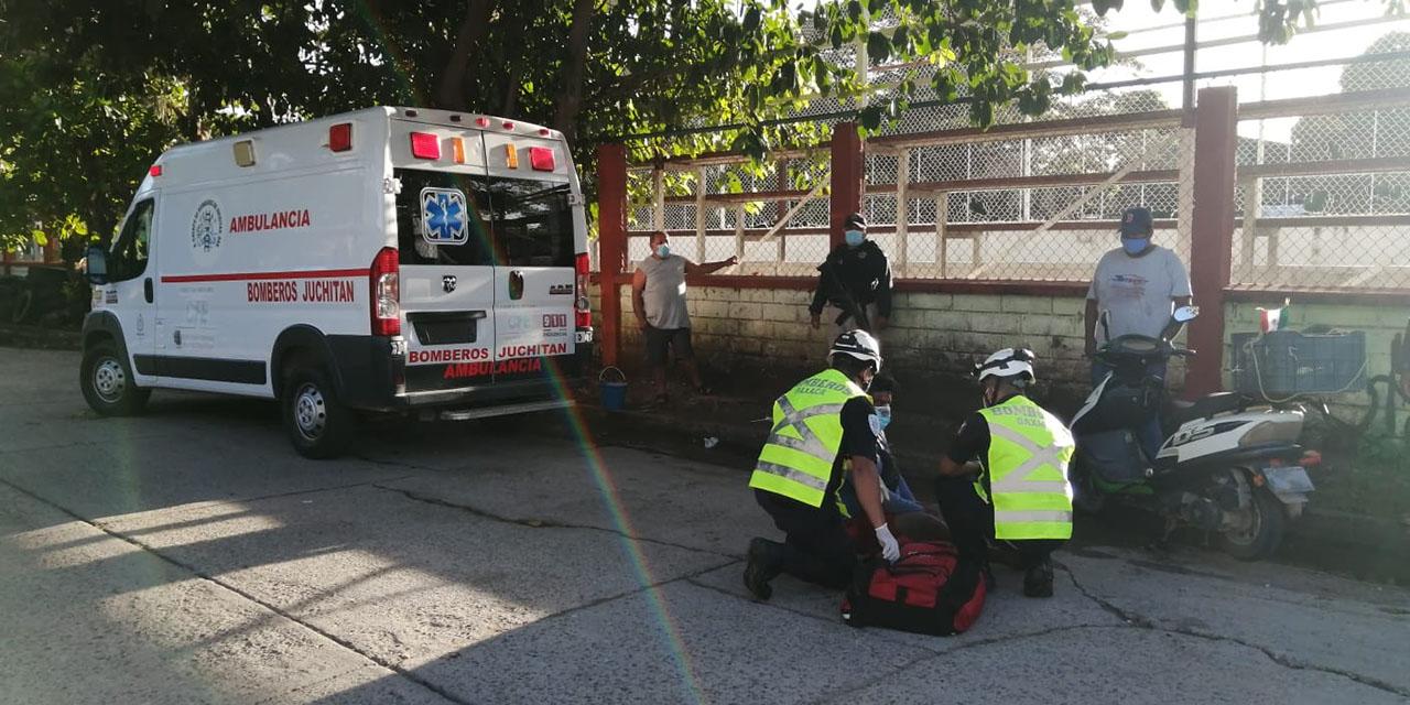 Derrapa repartidor en Juchitán | El Imparcial de Oaxaca