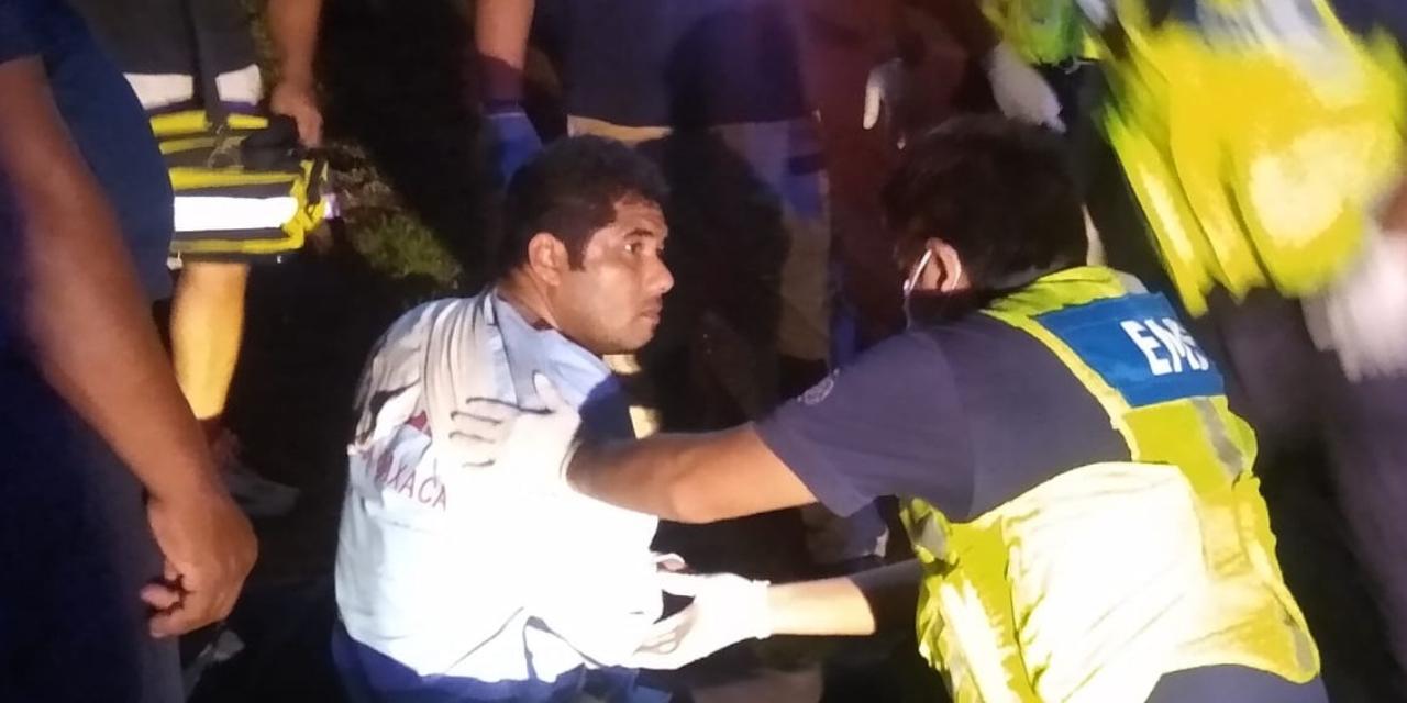 Derrapa motociclista en la transístmica | El Imparcial de Oaxaca