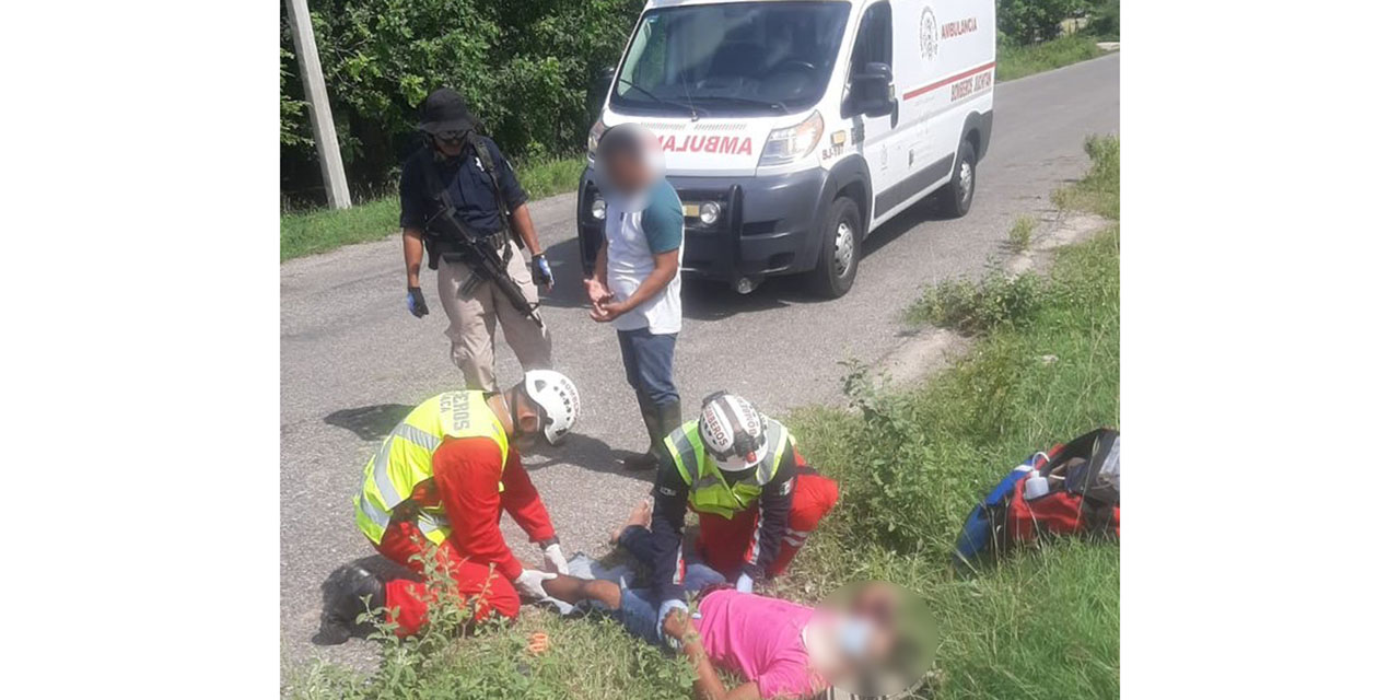 Derrapa motociclista en Juchitán | El Imparcial de Oaxaca