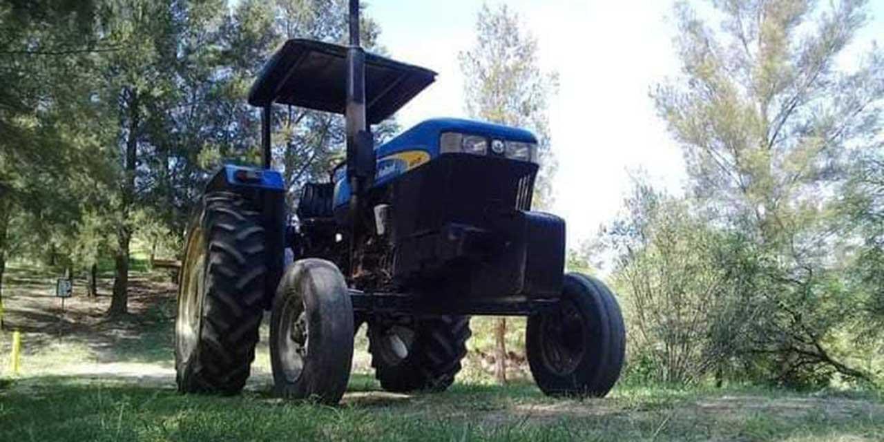 Sujetos armados roban tractor en Coyotepec | El Imparcial de Oaxaca