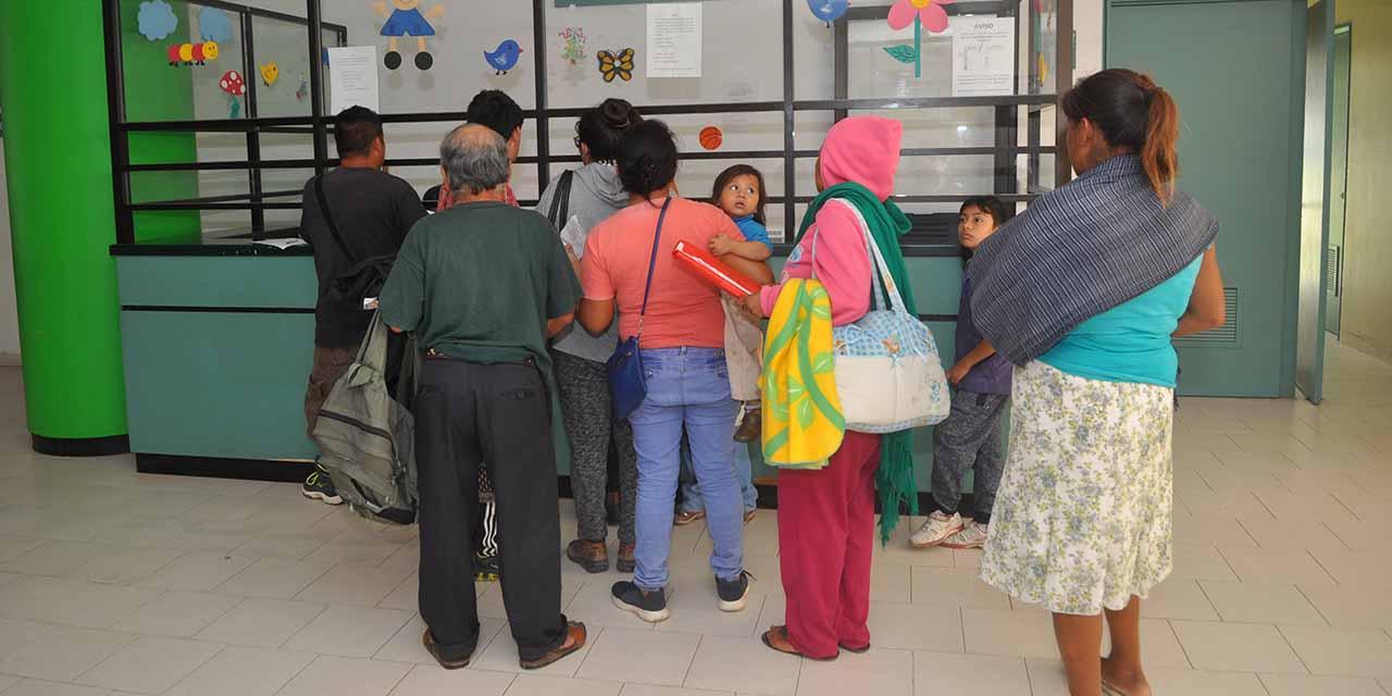 Colapsa Hospital de la Niñez; riesgo de cierre   El Imparcial de Oaxaca