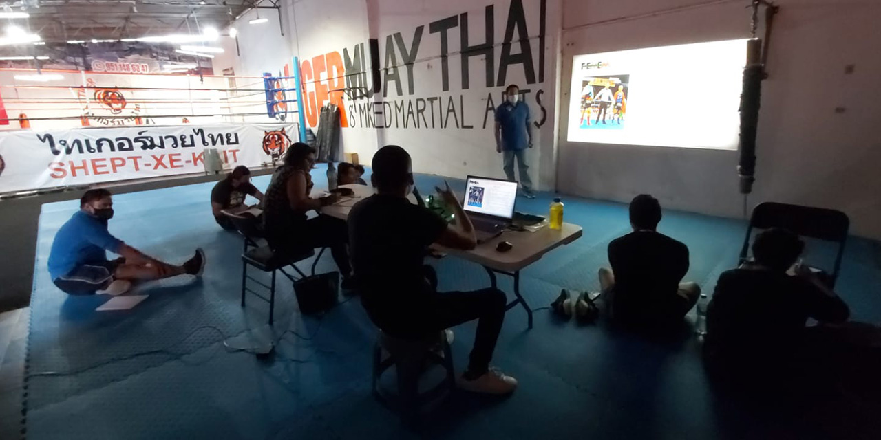 Culminaron capacitación en Muay Thai | El Imparcial de Oaxaca
