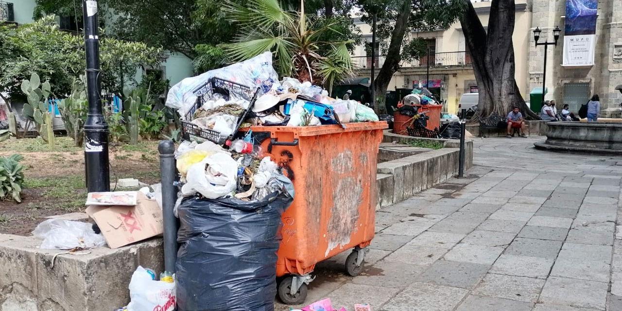 Por suspensión de recolección de basura, se acumulan desechos en la ciudad   El Imparcial de Oaxaca