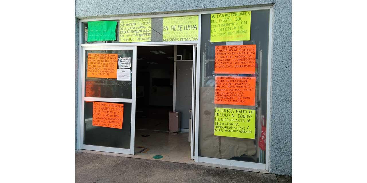 Quitan aparato de mastografía al ISSSTE de Huajuapan | El Imparcial de Oaxaca