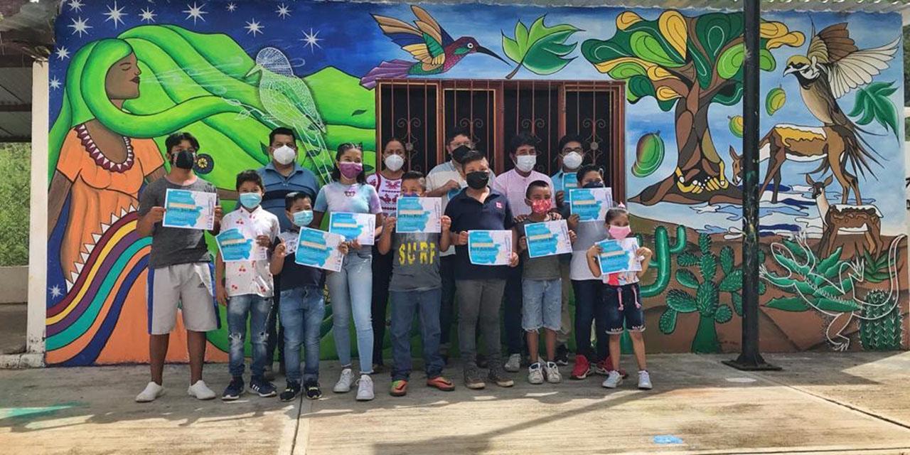 Promueven mediante el arte el cuidado del ambiente en Cuicatlán | El Imparcial de Oaxaca