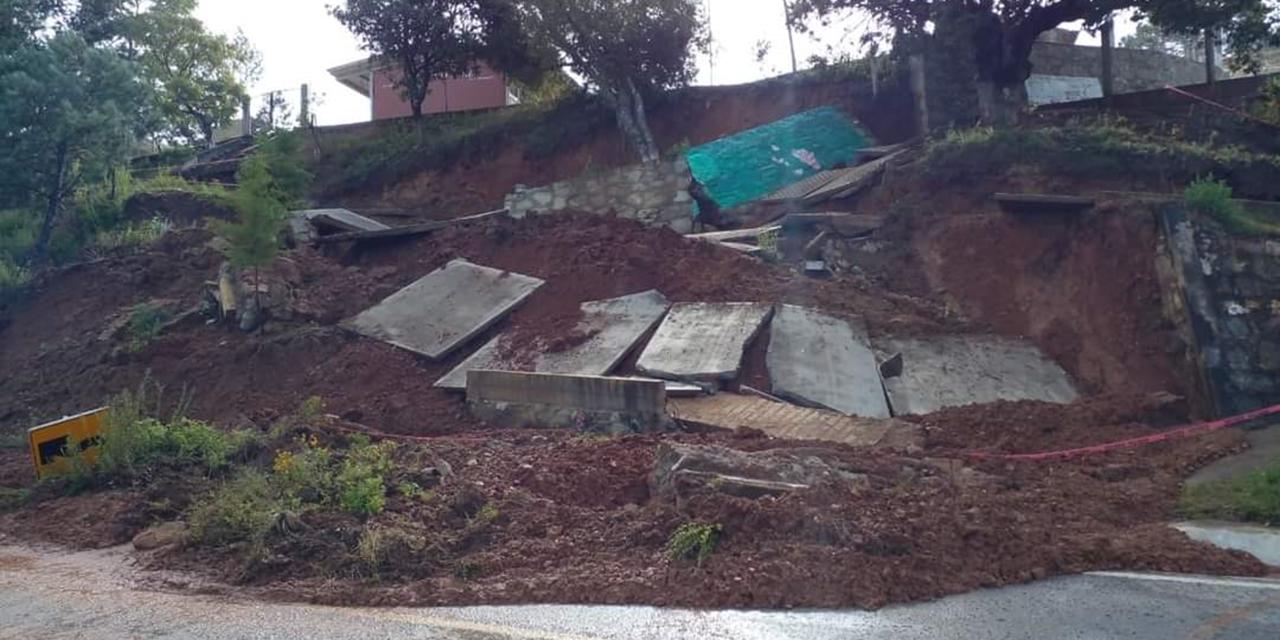 Podría colapsar escuela de San Andrés Nuxiño | El Imparcial de Oaxaca