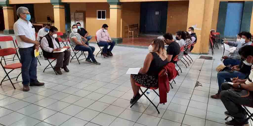 Autoridades se reúnen con habitantes de Rancho Valle del Lago   El Imparcial de Oaxaca