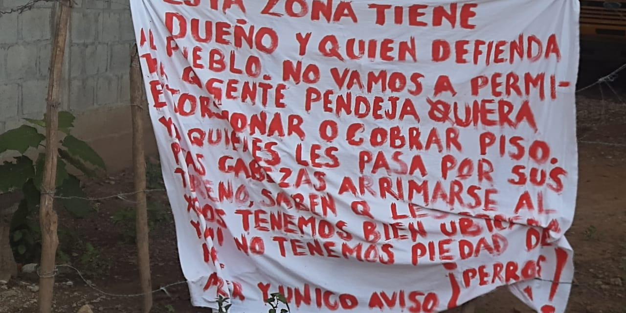 Aparecen dos narcomensajes en Matías Romero | El Imparcial de Oaxaca