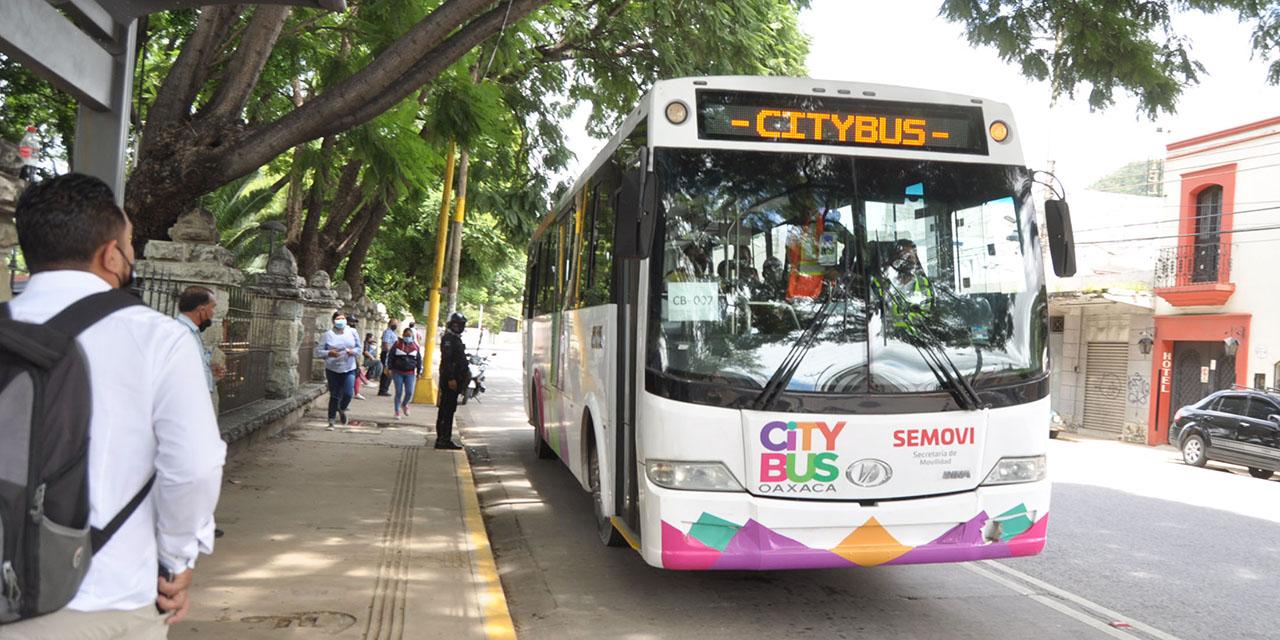 CityBus prepara nueva ruta pese a protesta | El Imparcial de Oaxaca