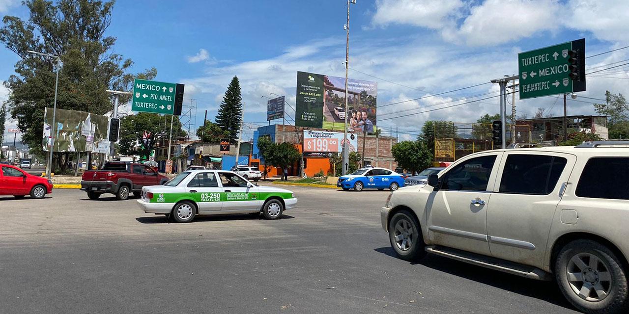 Crucero del Monumento a Juárez, convertido en el paso de la muerte | El Imparcial de Oaxaca
