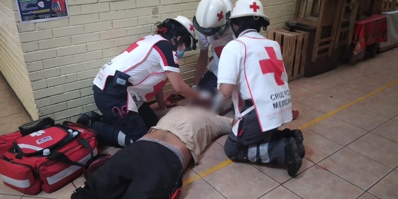 Tremenda tunda a presunto caco | El Imparcial de Oaxaca