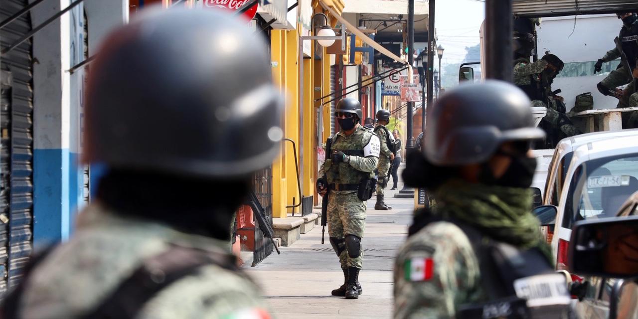 Guardia Nacional despliega a 5 mil 344 elementos en Oaxaca | El Imparcial de Oaxaca