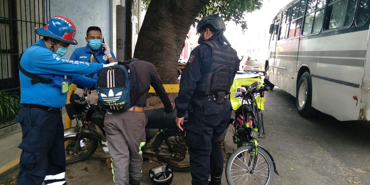 Ebrio motociclista moviliza a los cuerpos de emergencia de Oaxaca   El Imparcial de Oaxaca