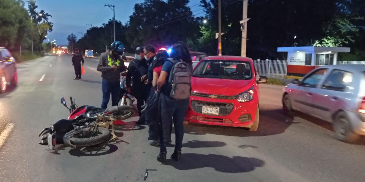 Atropellan a un motociclista en la Colonia Vicente Suárez   El Imparcial de Oaxaca