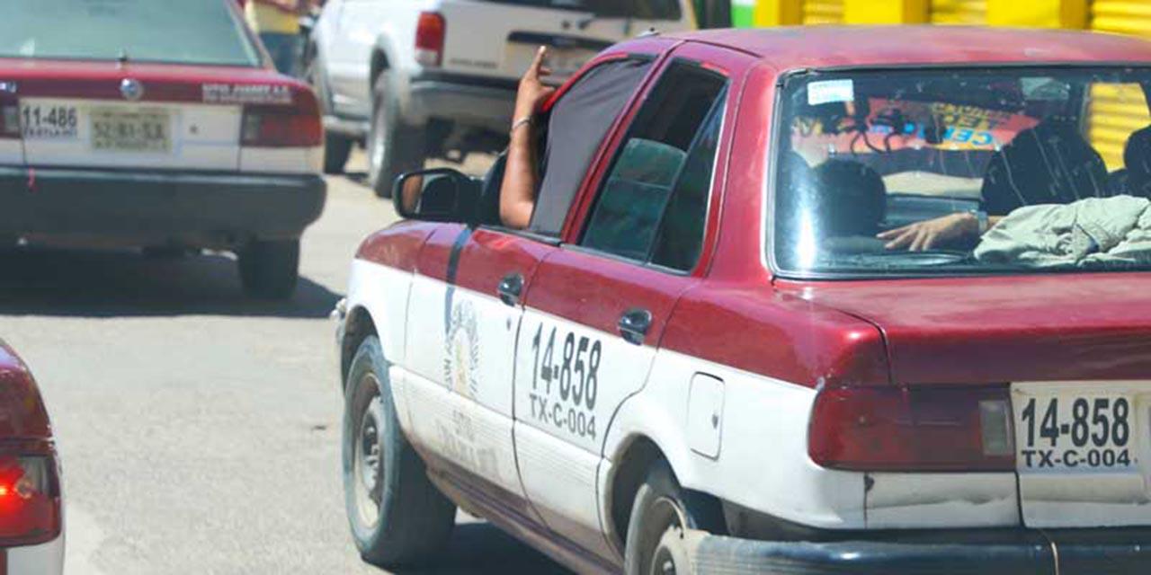 Taxistas foráneos violan normas sanitarias y reglamento | El Imparcial de Oaxaca