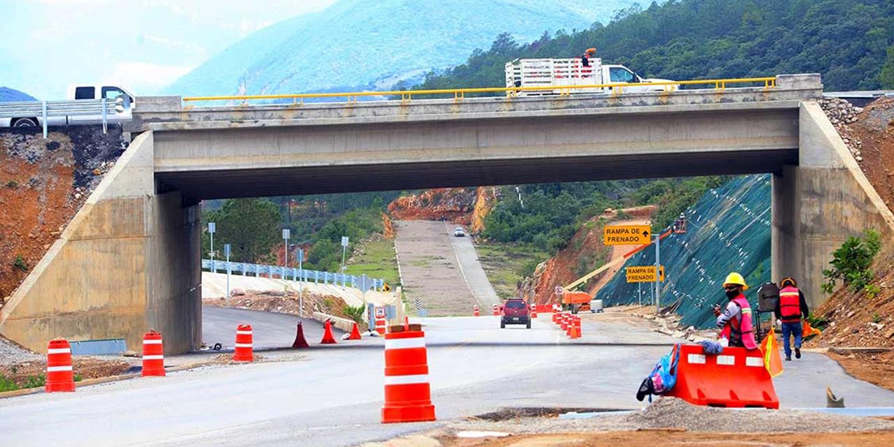 Avanza al 56% la supercarretera al Istmo; abriría en 2023 | El Imparcial de Oaxaca