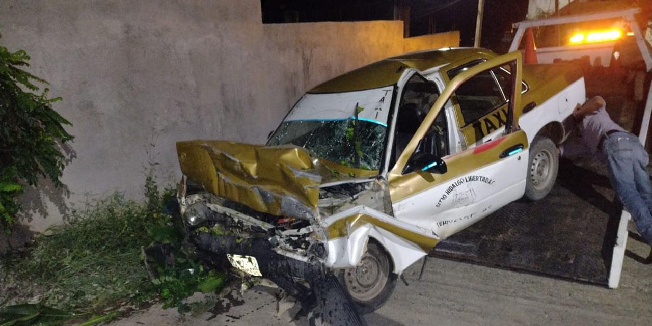 Taxista muere en accidente en Tehuantepec   El Imparcial de Oaxaca