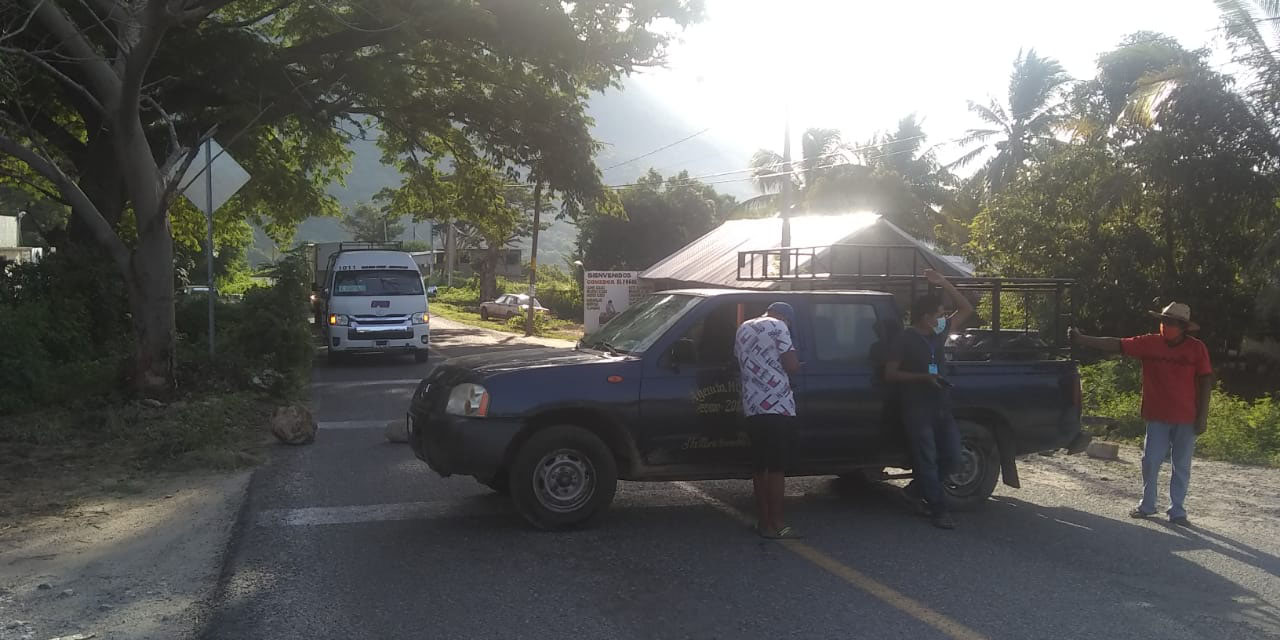 Huamelula toma la carretera costera   El Imparcial de Oaxaca