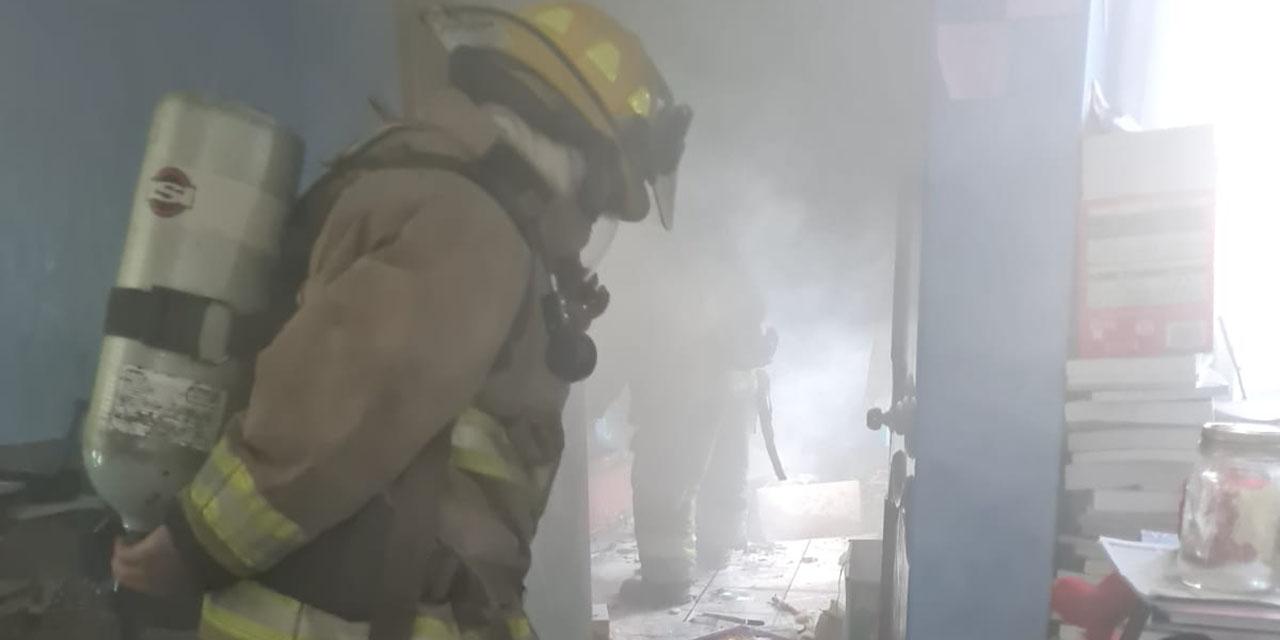 Incendio en la colonia Olímpica de Oaxaca   El Imparcial de Oaxaca