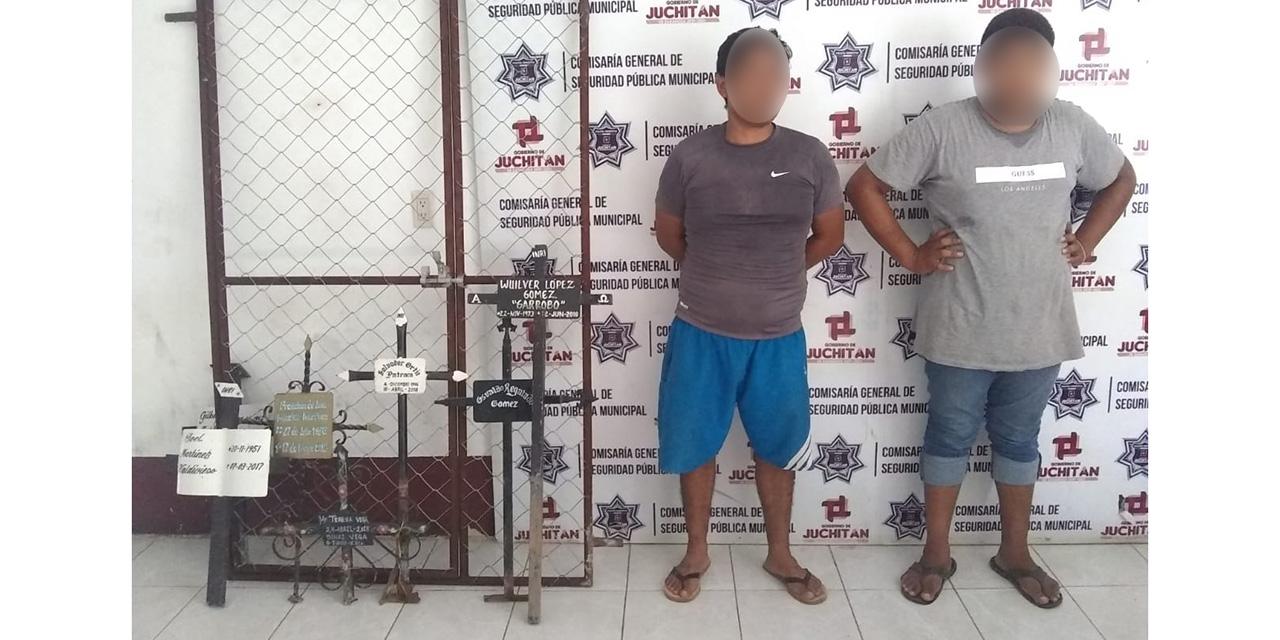 Son detenidos por robo de tumbas en el Istmo | El Imparcial de Oaxaca