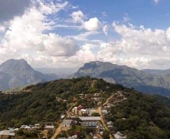 Afectan lluvias a comunidades serranas en Tehuantepec