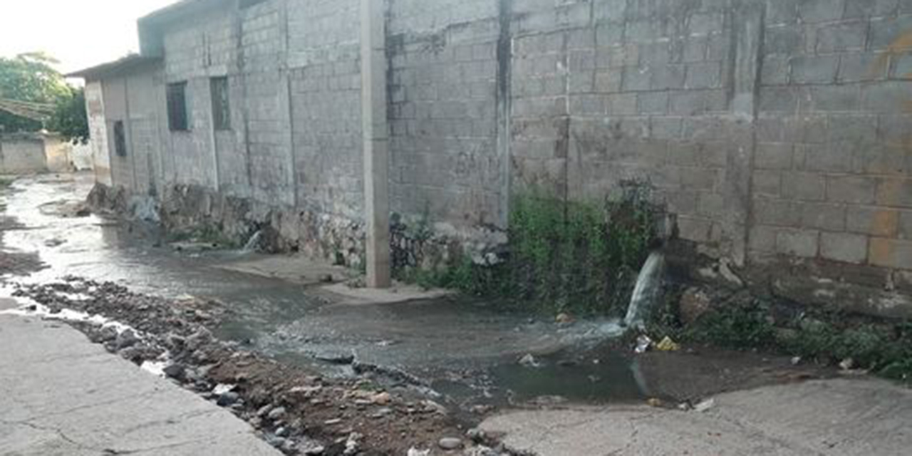 Quejas por fugas de aguas negras en Tehuantepec | El Imparcial de Oaxaca