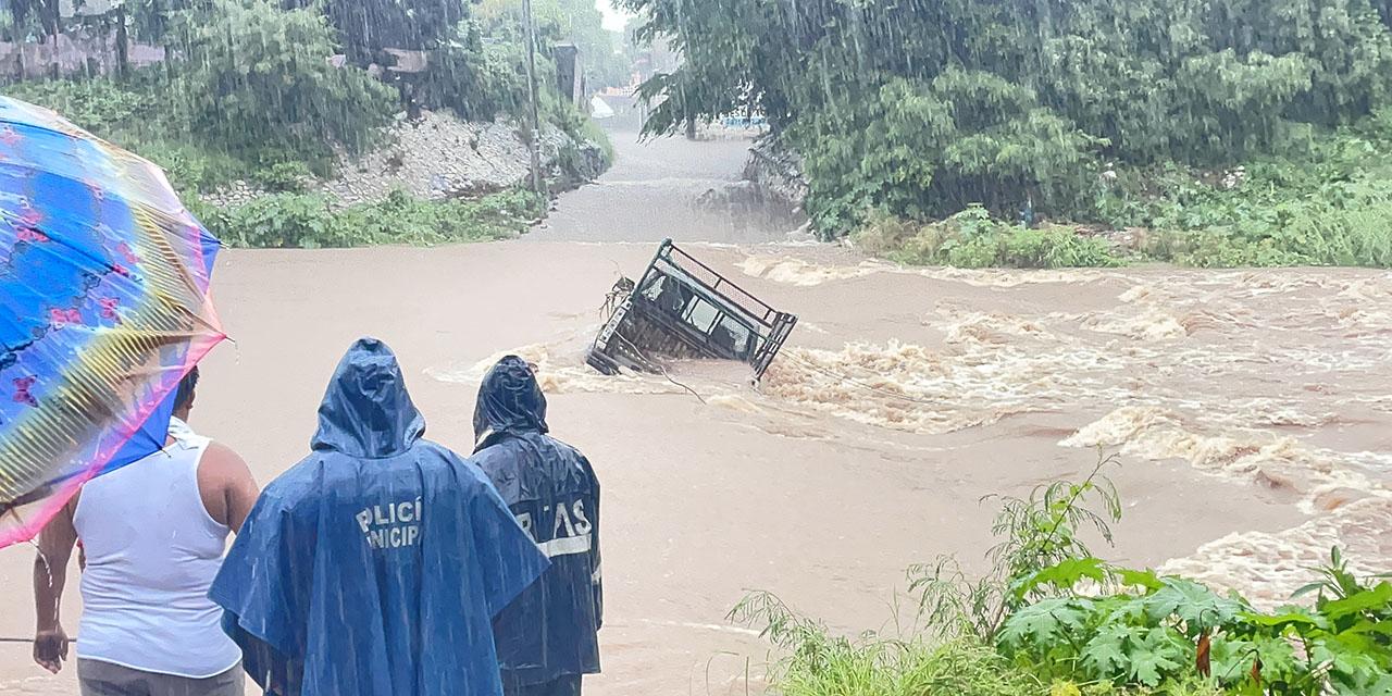 Daños por lluvias en Istmo y Sierra Sur   El Imparcial de Oaxaca